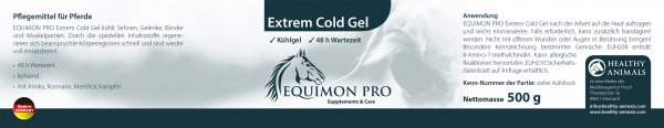 cooling gel for horses
